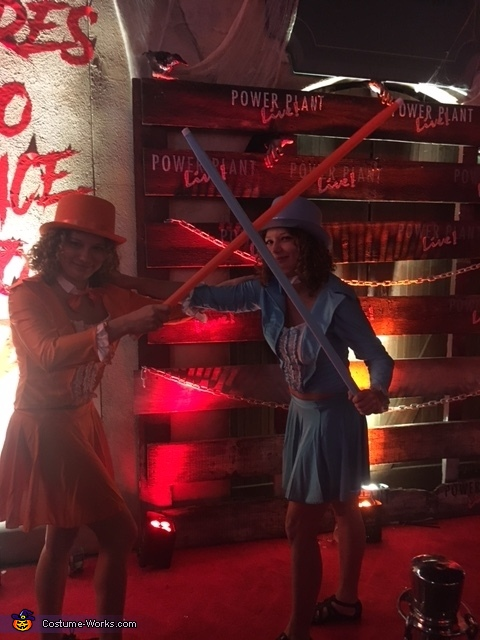Dumb and Dumber battle it out!, Dumb and Dumber Harry and Lloyd Costume