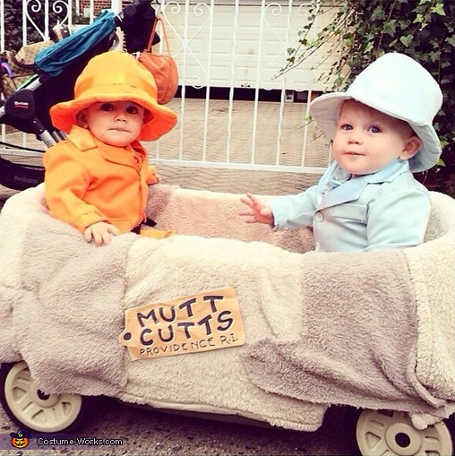 HARRY AND LLOYD, Dumb & Dumber Costume