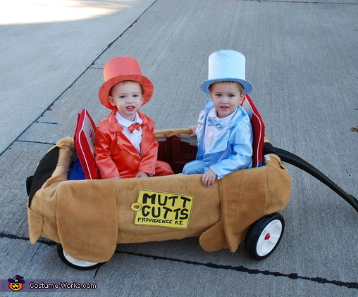 Lloyd and Harry from Dumb & Dumber Baby Costume