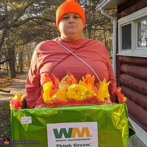 Dumpster Fire 2020 Costume