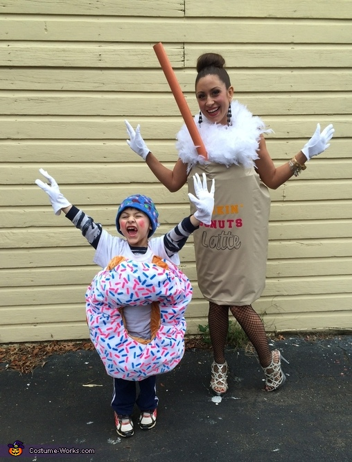 Dunkin' Donuts Costume