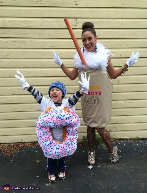 Dunkin' Donuts Costume
