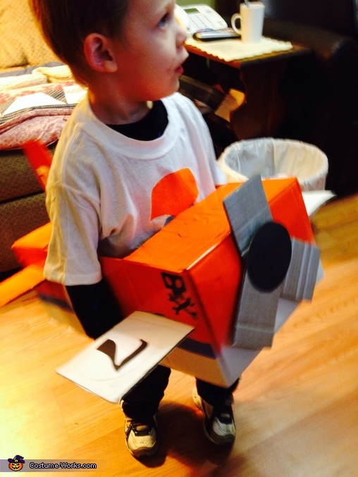 Dusty from Planes Homemade Costume