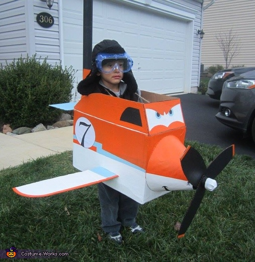 "Dusty from ""Planes"" Costume"