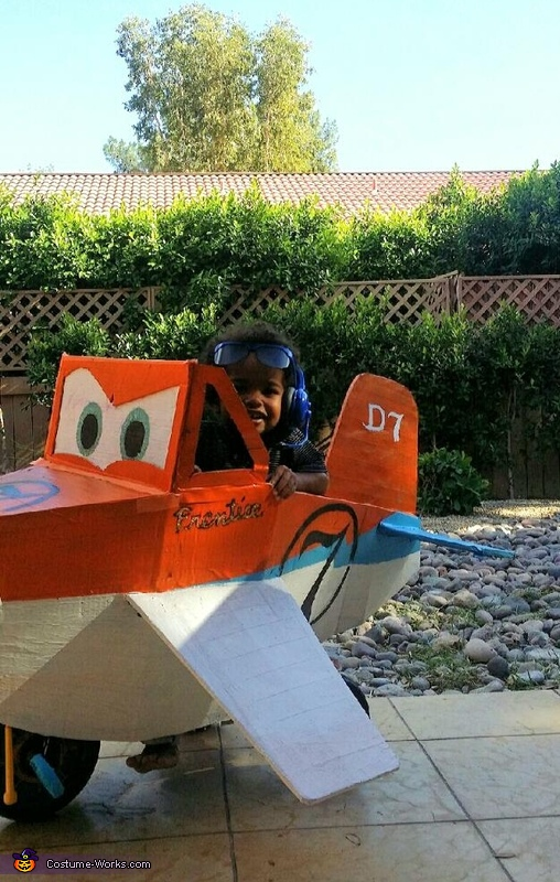 Dusty the Airplane Homemade Costume