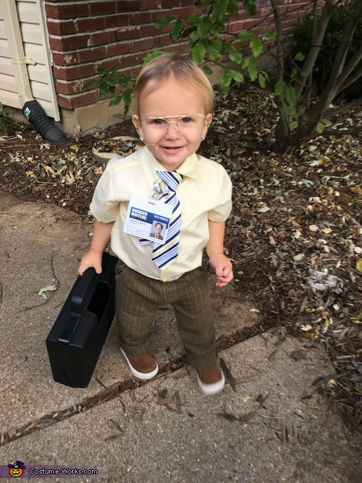 Dwight Schrute Baby Homemade Costume