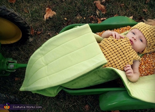 Ear of Corn Baby Costume