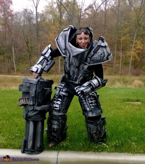 Earth Destroyer Costume