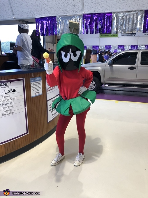 Earths Marvin the Martian Homemade Costume