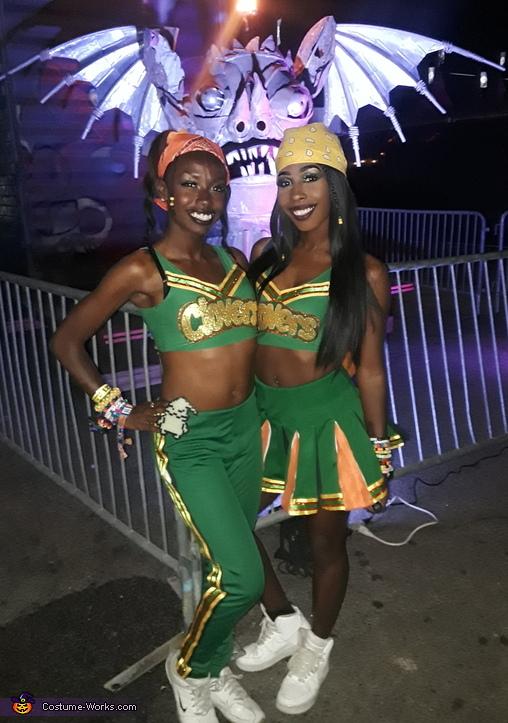 East Compton Clover Cheerleader Costume