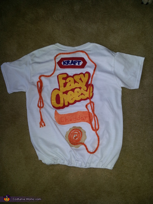 Easy Cheese Dog Costume