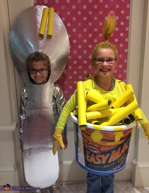 Easy Mac & Spoon Costume
