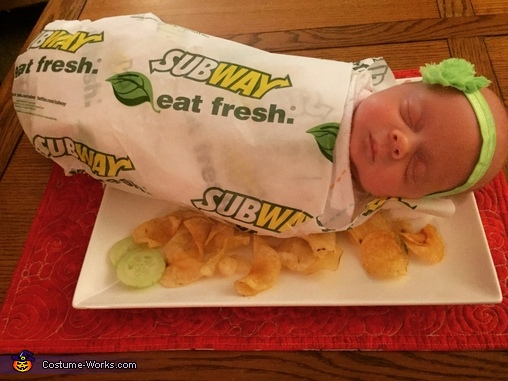 Eat Fresh, our favorite Footlong Costume