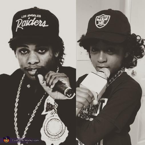 C.J. and Eazy-E, Eazy-E Costume