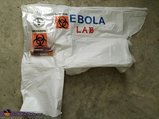 Ebola Lab Homemade Costume