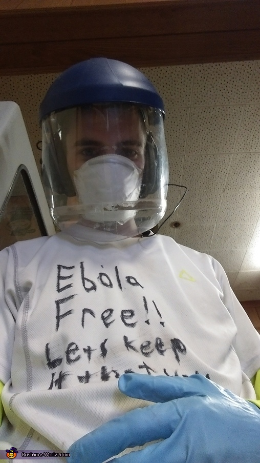 Ebola Schmola Costume