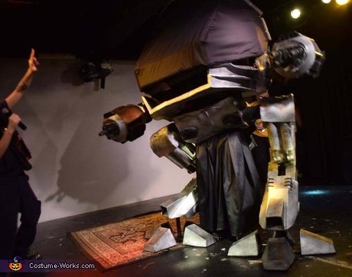 ED-209 from Robocop Costume