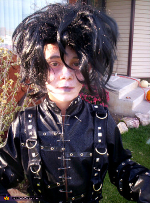 Edward Scissorhands - Homemade costumes for boys