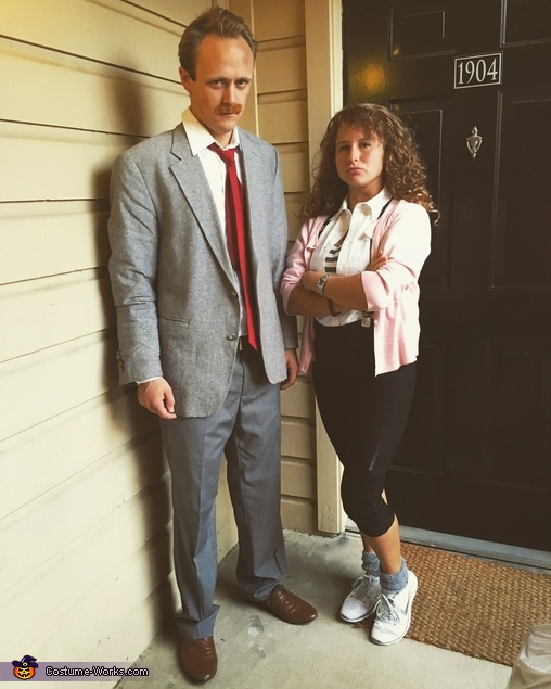 Ed Rooney and Jeanie Bueller Costume