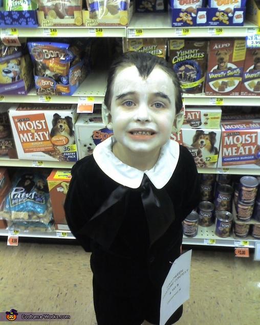 Eddie Munster Homemade Halloween Costume