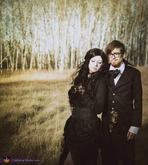 2, Edgar and Virginia Poe Costume