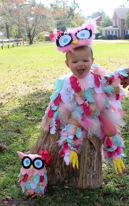 Edie the Owl Homemade Costume