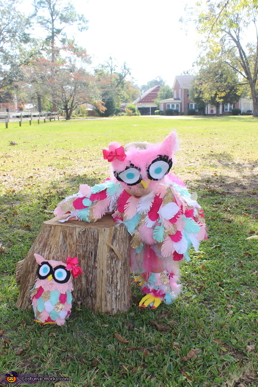 Edie the Owl Homemade Costume