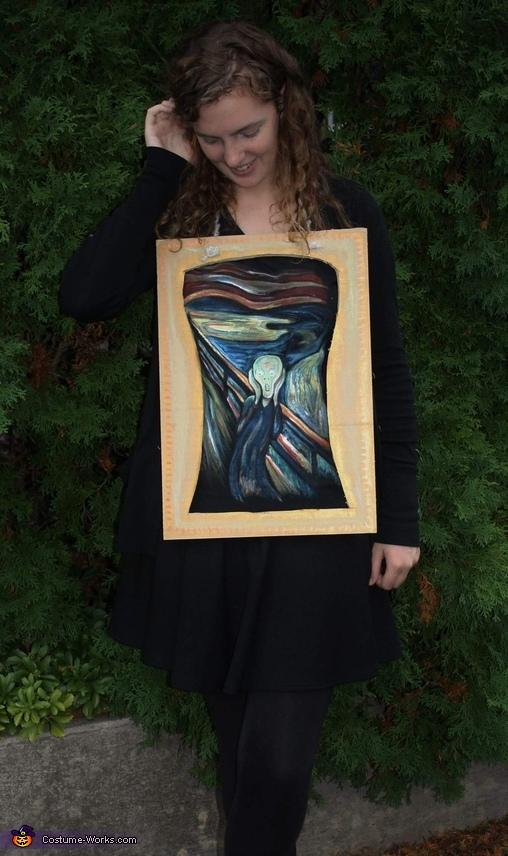 Edvard Munch's Scream Costume