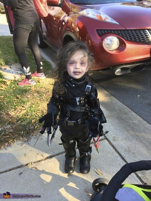 love it, Infant Edward Scissor Hands Costume