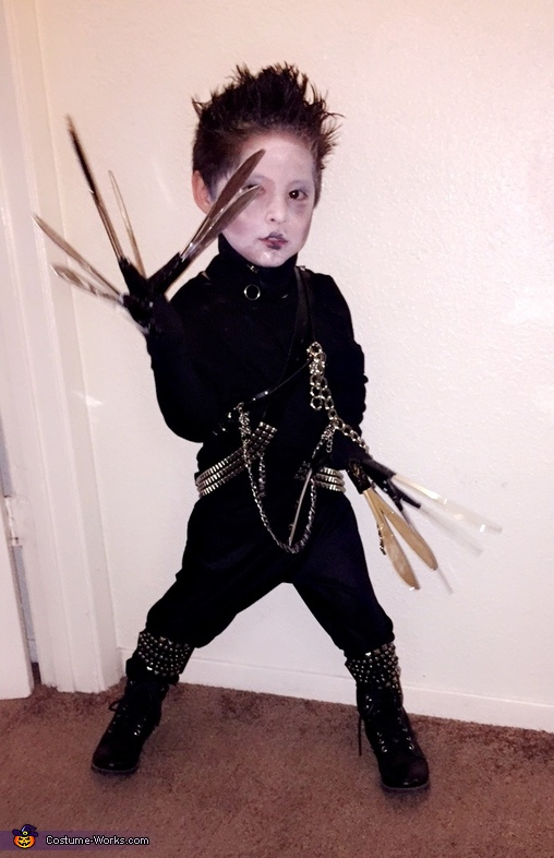 Edward Scissor Hands Costume