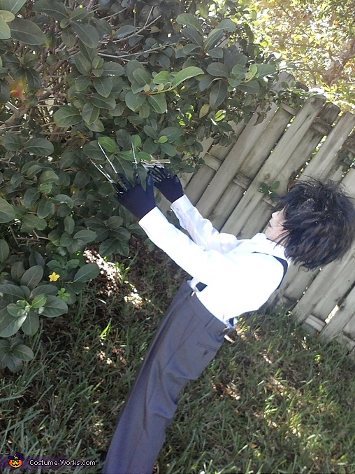 Edward Scissor Hands Costume