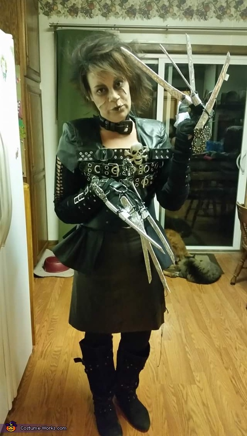 Edward Scissor Hands Female Costume