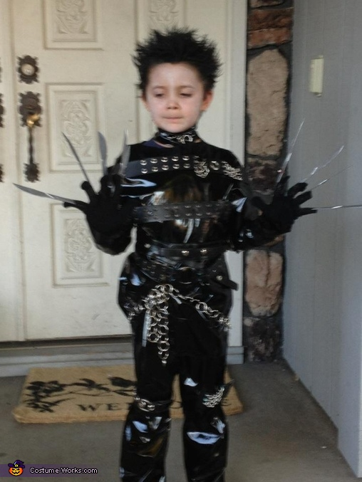 Boy's Edward Scissorhands Costume
