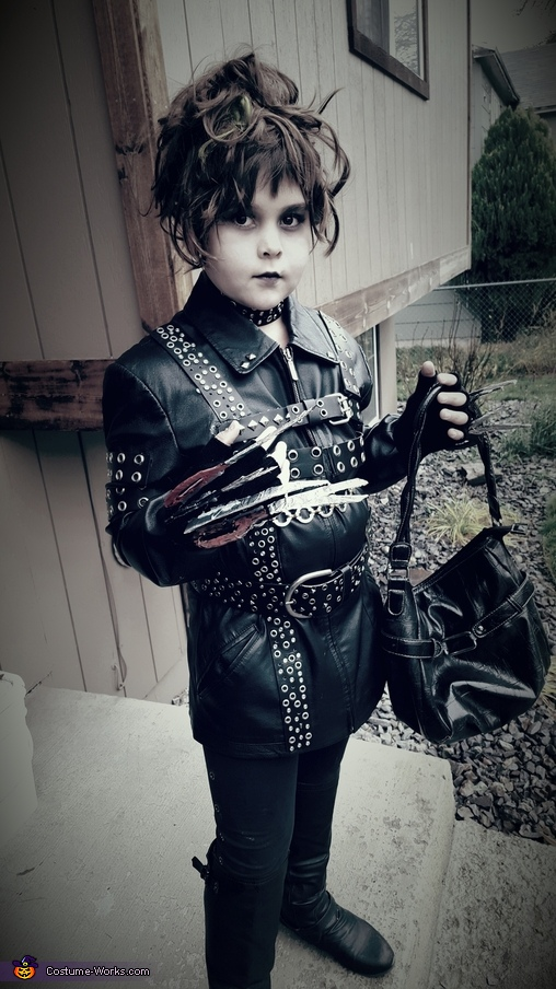 Mrs. Edward Scissorhands Costume