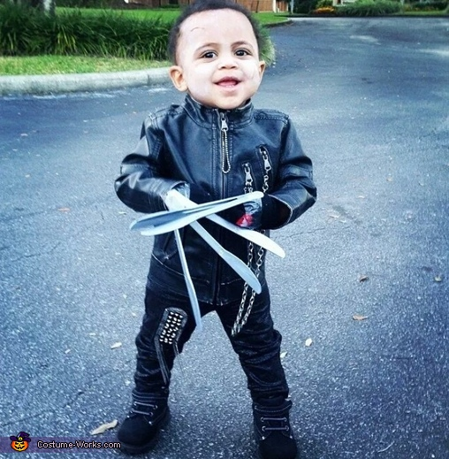 Easy Edward Scissorhands Baby Costume