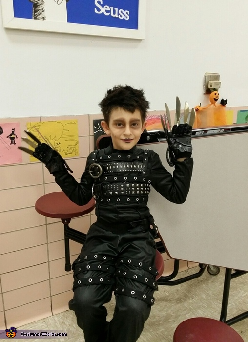 A happy guy!, Edward Scissorhands Costume