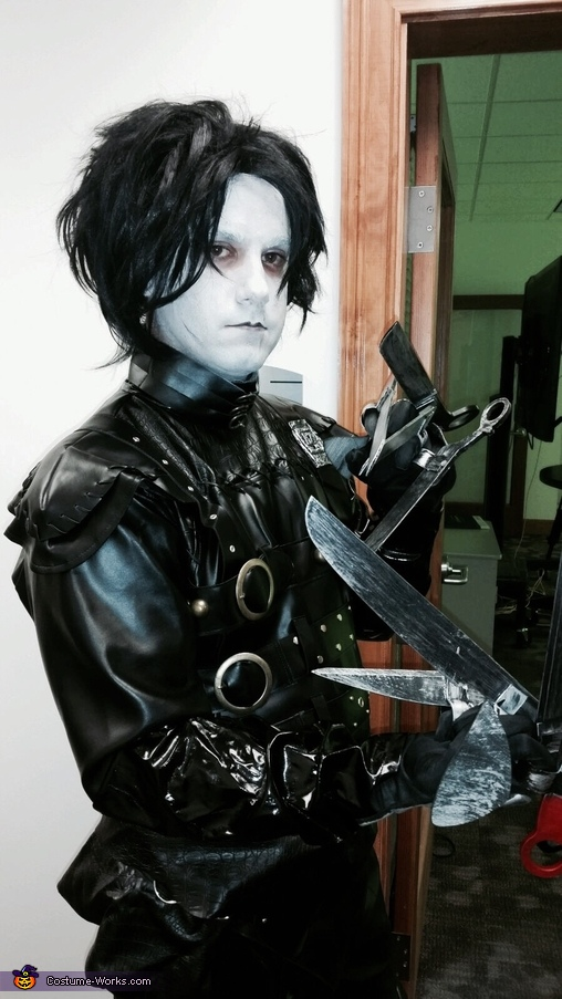Ready to chop your next dew, Edward Scissorhands Costume