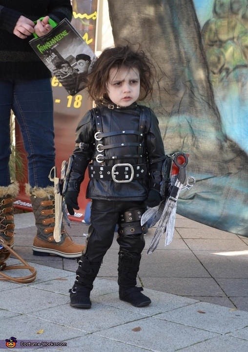 Edward Scissorhands - Homemade costumes for babies