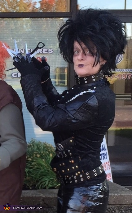 Edward!, Edward Scissorhands Costume