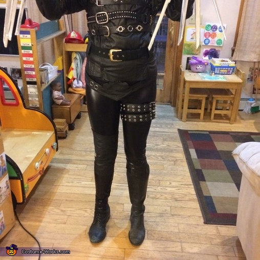 Bottom Half, Edward Scissorhands Costume