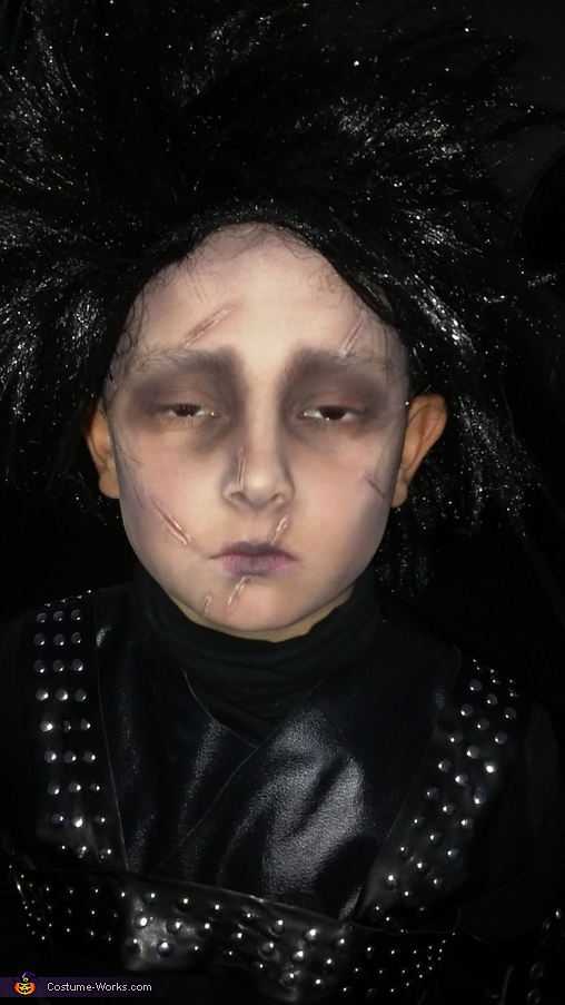 Edward Scissorhands Boys Costume
