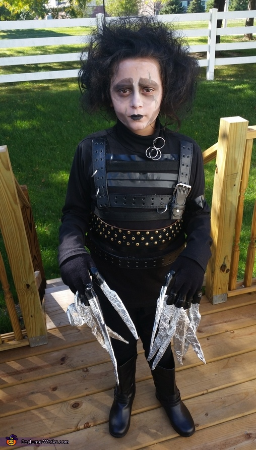 Edward Scissorhands DIY Costume