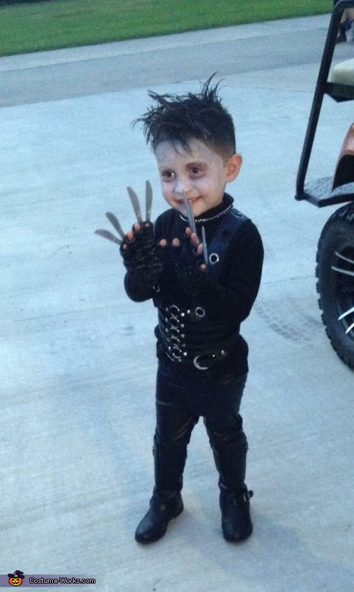 Edward Scissorhands Boy's Costume