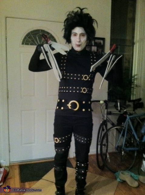 Edward Scissorhands - Homemade costumes for men