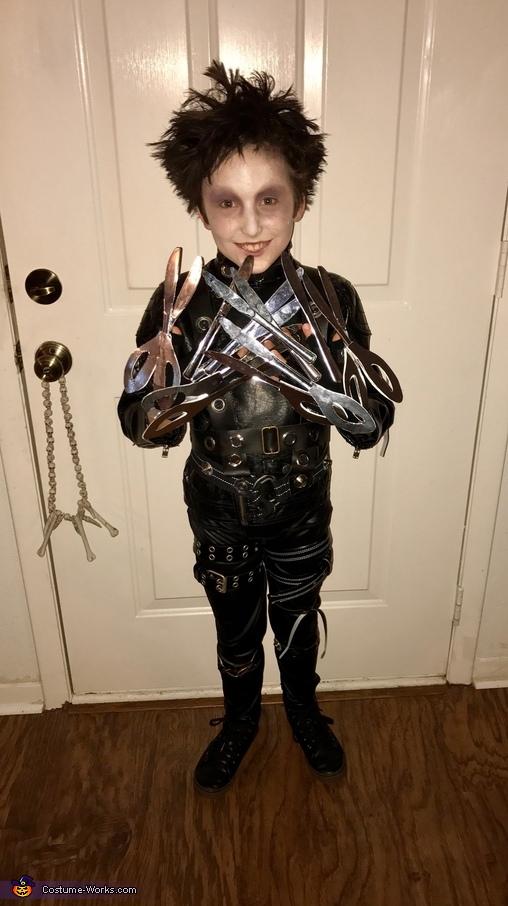 Edward Scissorhands Child Costume