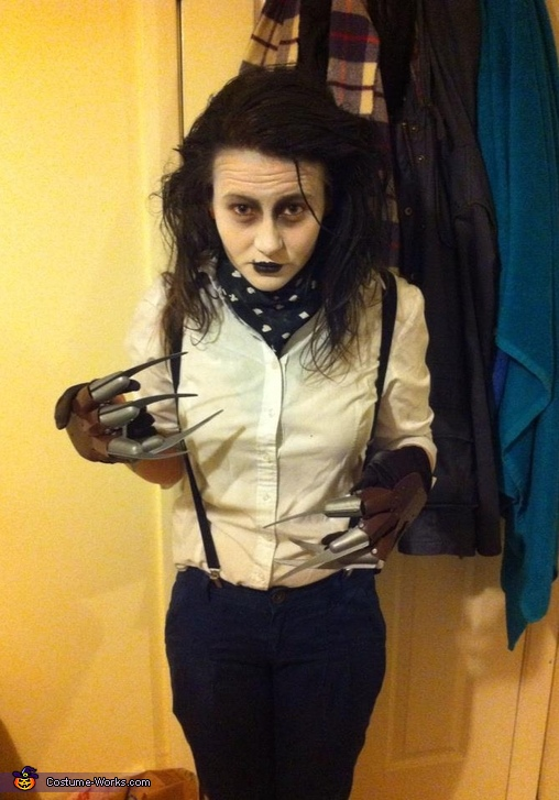Female Edward Scissorhands Costume