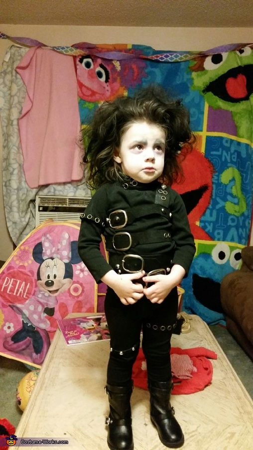 Front of Costume, Edward Scissorhands Costume