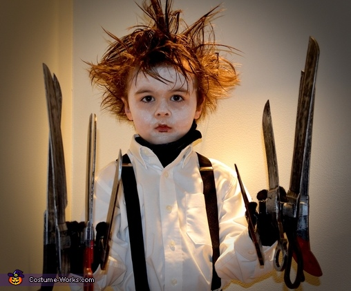 Edward Scissorhands Homemade Costume