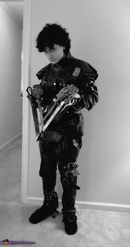 Edward Scissorhands Homemade Costume