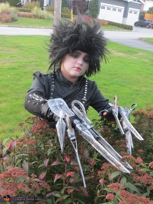 Edward Scissorhands Girl's Costume